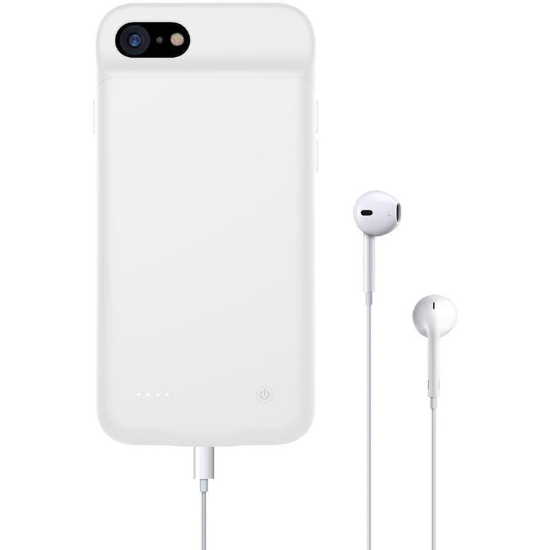 iPhone 8 Plus (Shipping Now!) / White Lux Mobile iPhone Battery Case iPhone 11 Pro Battery Case iPhone x Battery Case