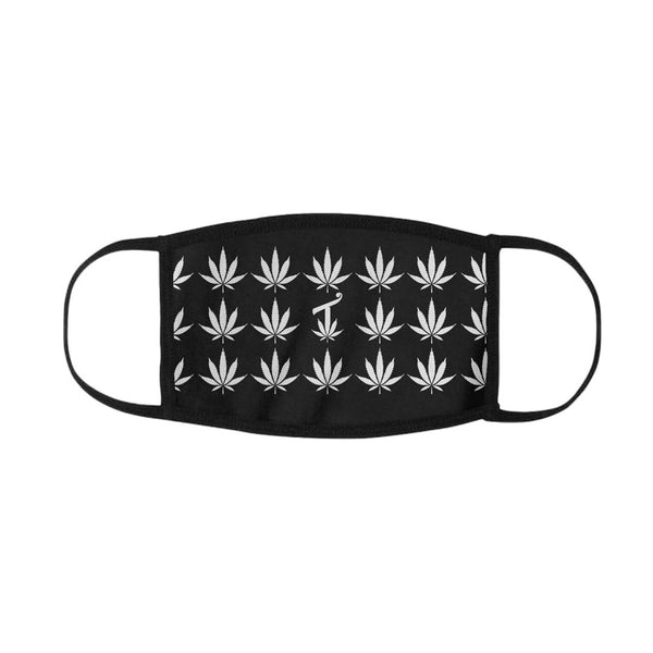 420 Black & White Mouth Mask