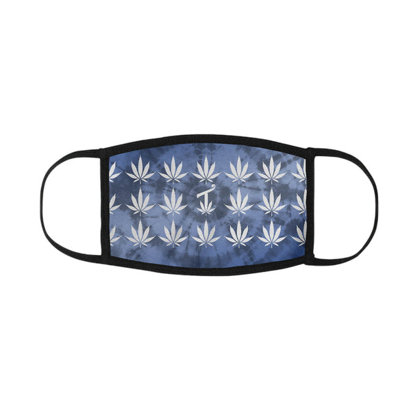 420 Blue Tie Dye Mouth Mask