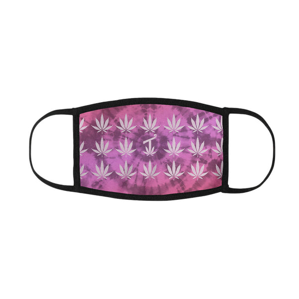 420 Pink Tie Dye Mouth Mask