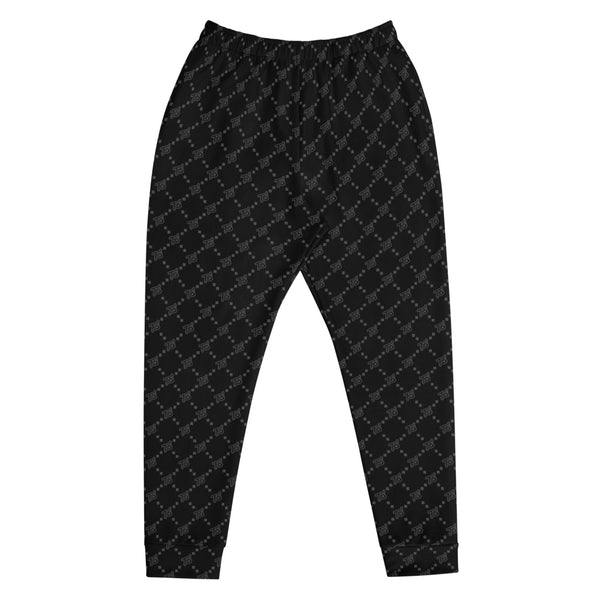 Black Pattern Men's Joggers