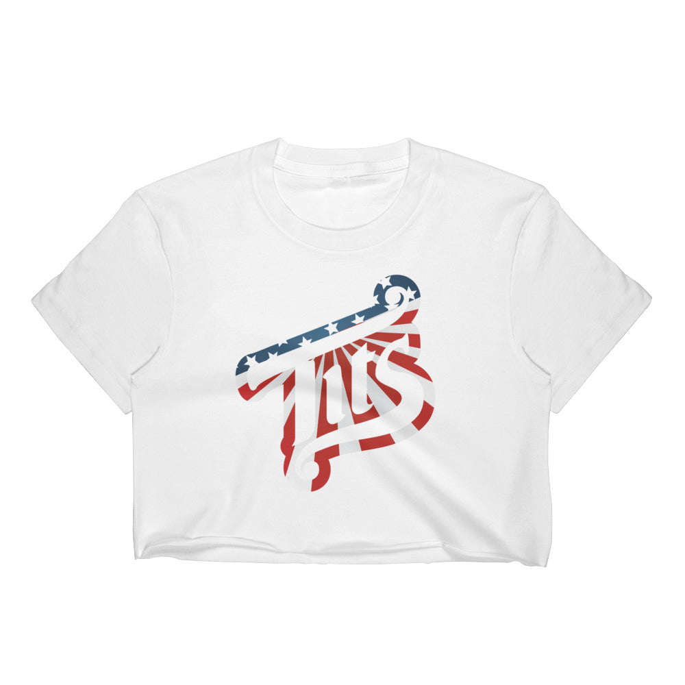 Merica Women's Crop Top