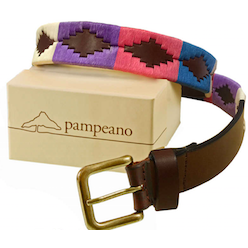 Pampeano polo belt - Lila
