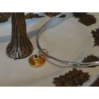 Gold Teacup Bangle