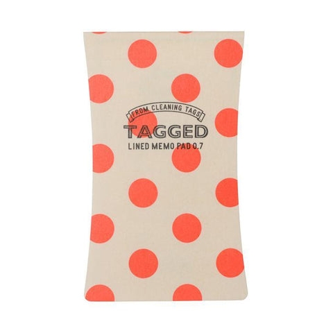 Silhouette Waterproof Memo Pad | Red DotS