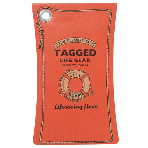 Tagged Waterproof Memo Pad | Float-L