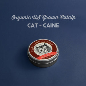Cat-caine 100% Organic US Grown Catnip