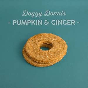 Pumpkin Ginger Dog Donuts