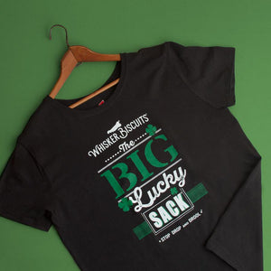 Whisker Biscuits Big Lucky Sack T-shirt for Men