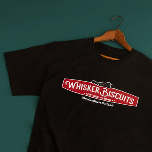 Whisker Biscuits Original Logo T-shirt for Men