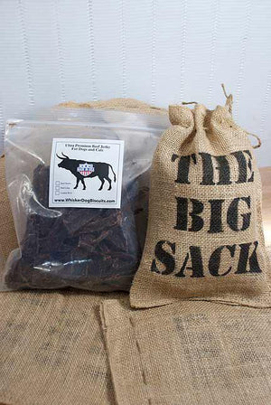 The BIG SACK and 1 lb Beef Jerky