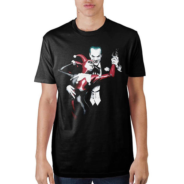 Batman Joker & Harley Mens T-Shirt