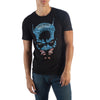 Batman Type Face Mens Black T-Shirt