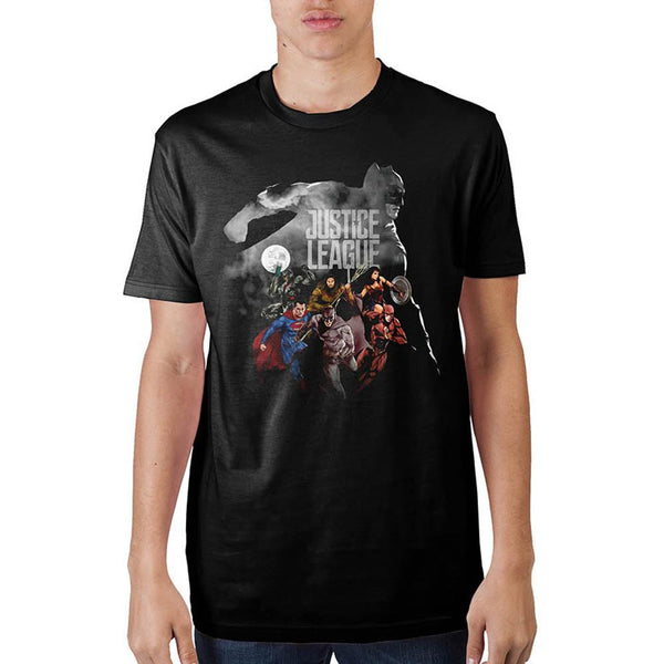Justice League Batman Outline  T-Shirt