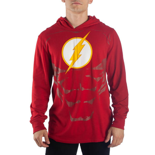 Flash Lightweight Hoodie DC Comics Cosplay