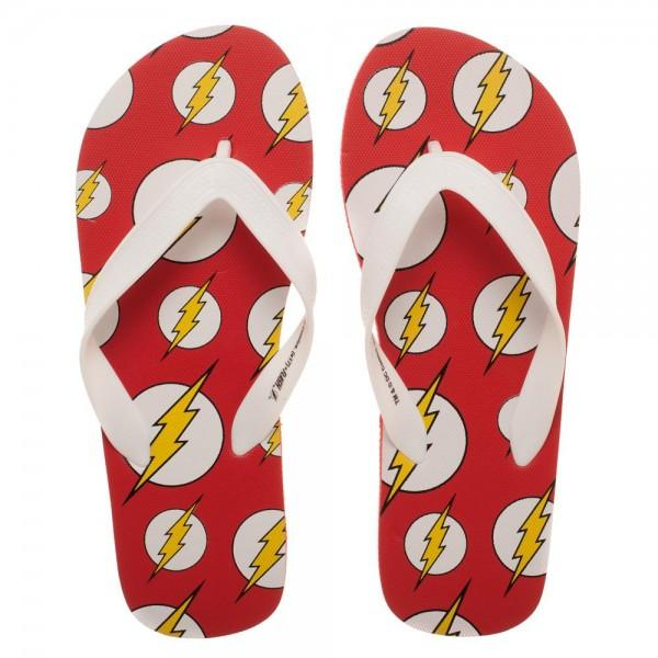DC Comics Flash Unisex Flip Flops