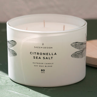 Citronella Sea Salt Candle