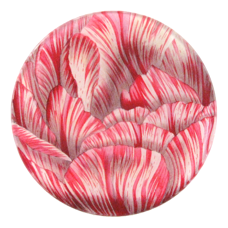 Double Tulip Dish