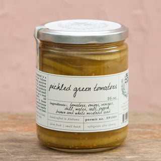 Pickled Green Tomatoes