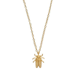 Stayin' Alive Goldbug Pendent Necklace