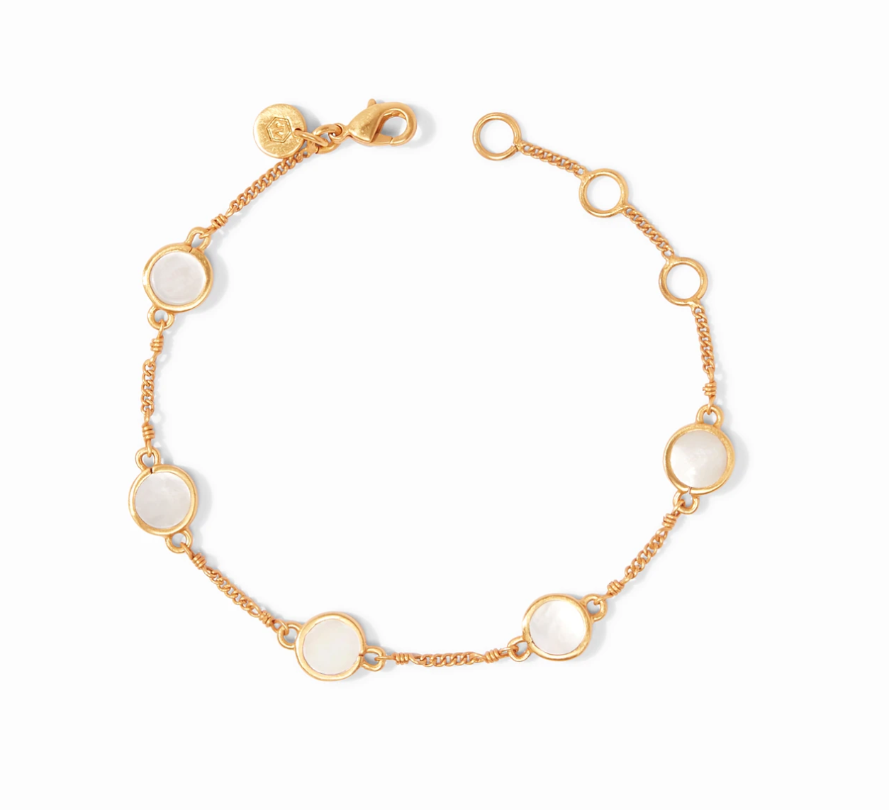 Valencia Delicate Bracelet with Mother of Pearl