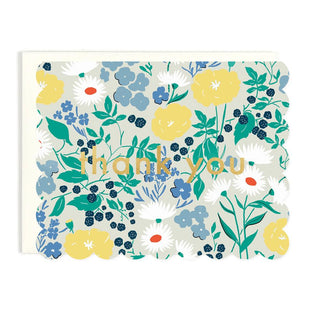 English Garden Thank You Card