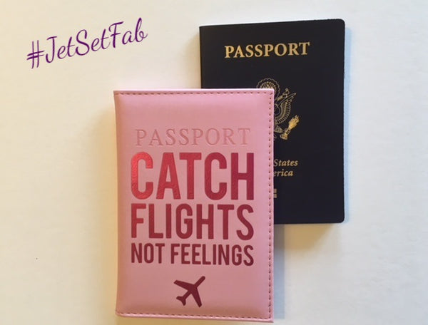 'Pink Passion' Passport Cover