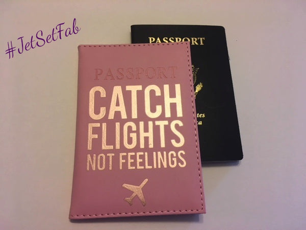 'Pretty In Pink' Passport Cover
