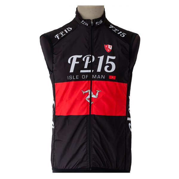 FP15 Team Gilet – Black - Isleofman