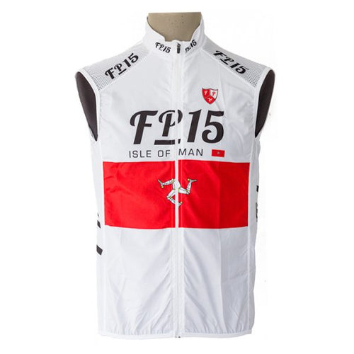 FP15 Team Gilet – White - Isleofman