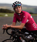 Aero Jersey & Bib Shorts – Black & Pink – SPECIAL OFFER - Isleofman
