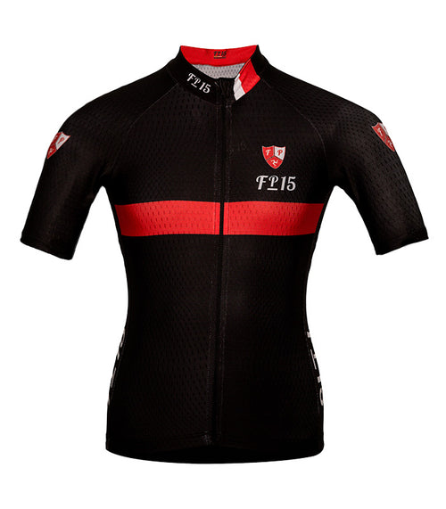 Aero Jersey – Black & Red - Isleofman