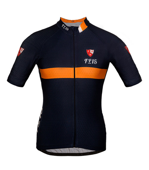 Aero Jersey – Navy & Orange - Isleofman