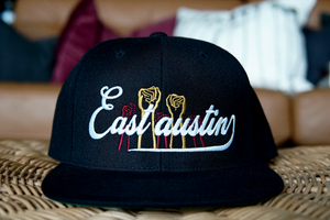 East Austin Power Gold/Burgundy Snapback