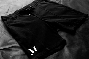 Washed Shorts Black