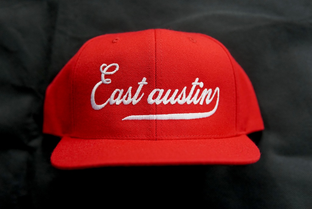 East Austun Red/White Snapback