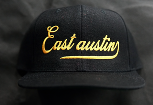 East Austin Black/Gold Snapback