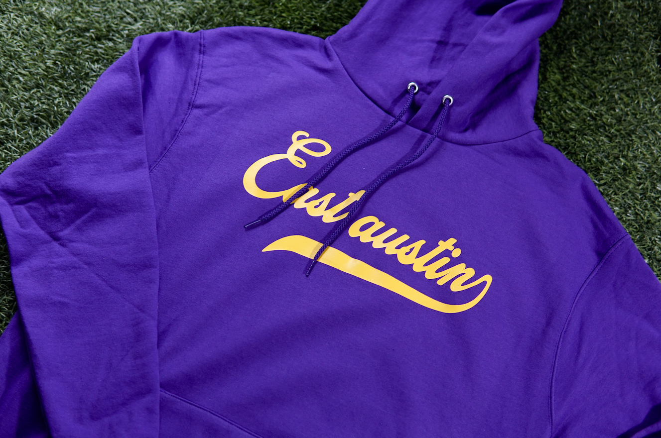East Austin Purple/Gold Hoodie