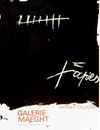 Encres-et-collages-Tàpies-Galerie-Maeght-poster-plakat