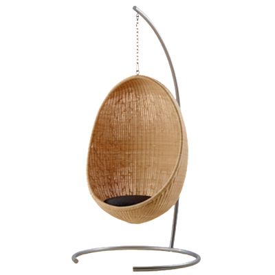 Hanging Egg Chair by Nanna Ditzel