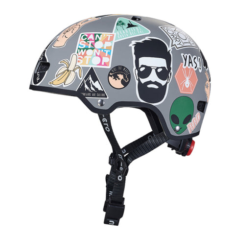 Micro Casco Niño Stickers S