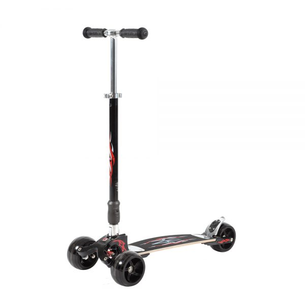 Kb Monster Negro/Rojo / Scooter de adulto