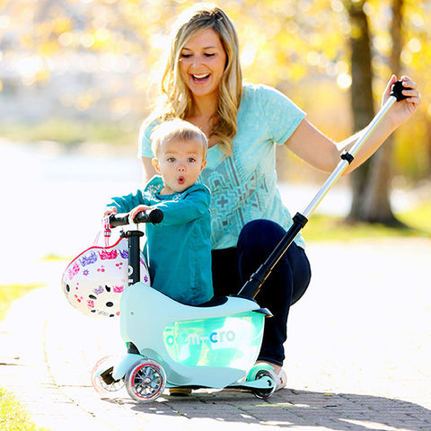 Mini2Go Deluxe Plus Menta / Scooter de niño