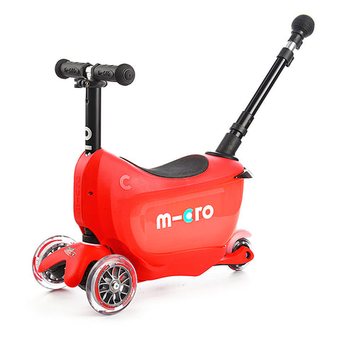Mini2Go Deluxe Plus Rojo / Scooter de niño