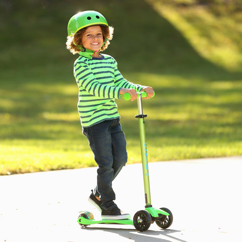 Micro Scooter Maxi Deluxe Verde