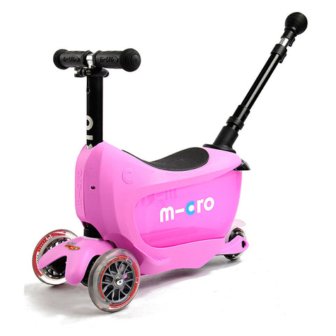 Mini2Go Deluxe Plus Rosado / Scooter de niño