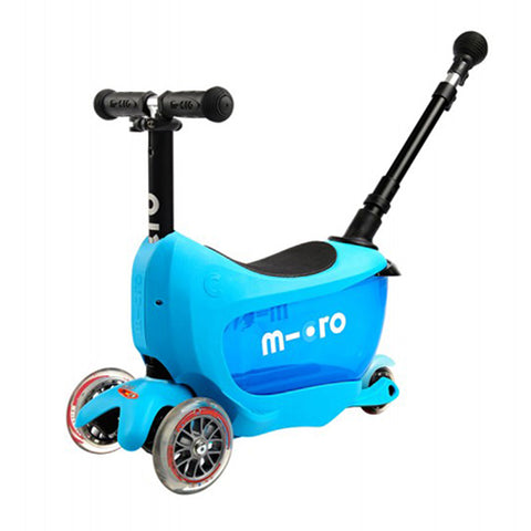 Mini2Go Deluxe Plus Azul / Scooter de niño
