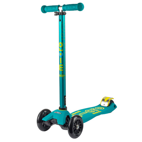 Micro Scooter Maxi Deluxe Verde Petroleo