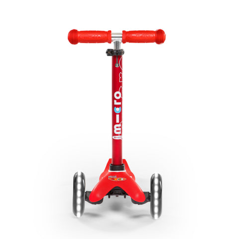 Mini Deluxe LED Rojo / Scooter de niño