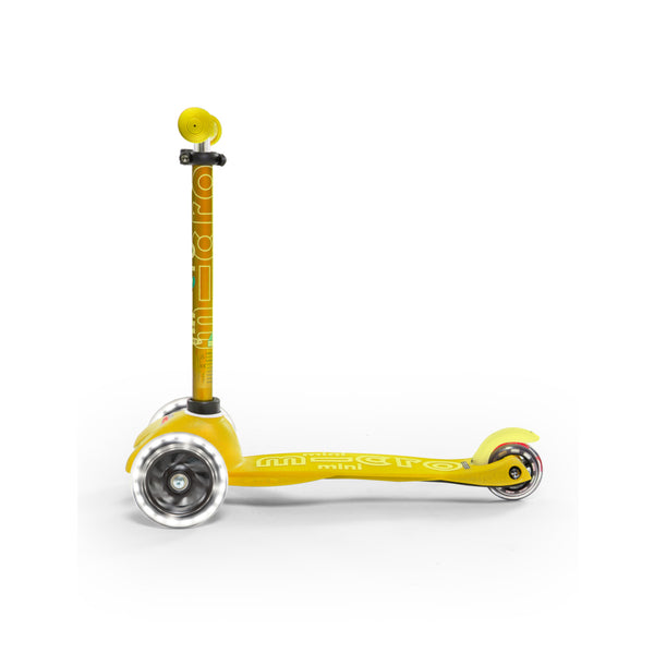 Mini Deluxe LED Amarillo / Scooter de niño